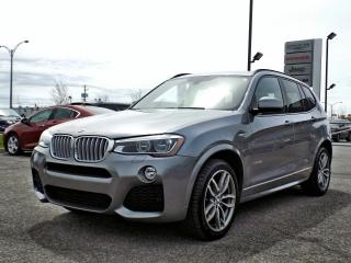 Used 2016 BMW X3 xDRIVE 35i *CUIR*TOIT*GPS* for sale in Brossard, QC