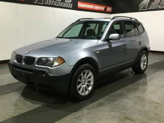 Used 2005 BMW X3 4 portes traction intégrale 2,5i for sale in Carignan, QC