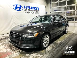 Used 2013 Audi A6 PREMIUM PLUS CERTIFIÉ AUDI 160 000KM + for sale in Drummondville, QC
