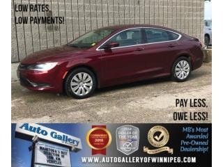 Used 2016 Chrysler 200 LX for sale in Winnipeg, MB