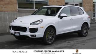 Used 2018 Porsche Cayenne S e-Hybrid Platinum Edition | PORSCHE CERTIFIED for sale in Vancouver, BC