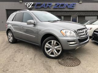 Used 2011 Mercedes-Benz ML-Class ML 350 BlueTEC Diesel Navi Lots of Service for sale in Calgary, AB