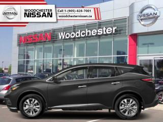 New 2018 Nissan Murano AWD SL  - $280.96 B/W for sale in Mississauga, ON