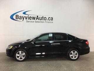 Used 2013 Volkswagen Jetta 2.0 TDI Comfortline - SUNROOF! BLUETOOTH! HTD SEATS! PWR GROUP! for sale in Belleville, ON