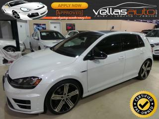 Used 2016 Volkswagen Golf R GOLF R| 2.0 TSI| 6SPD| NAVIGATION for sale in Vaughan, ON