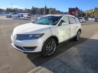 Used 2016 Lincoln MKX Reserve clean carfax report, 2.7L V6 GTDI engine, for sale in Okotoks, AB