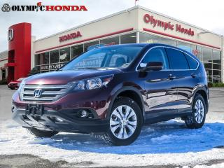 Used 2014 Honda CR-V EX-L AWD for sale in Guelph, ON
