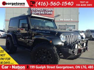 Used 2016 Jeep Wrangler Sahara|NAVI|RIMS & TIRES|WINCH|LIGHTBAR for sale in Georgetown, ON