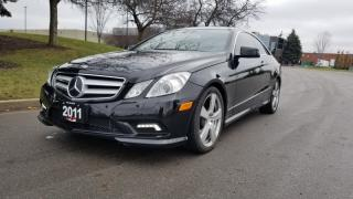 Used 2011 Mercedes-Benz E-Class 2dr Cpe 5.5L Coupe | Accident Free | AMG Package for sale in Vaughan, ON