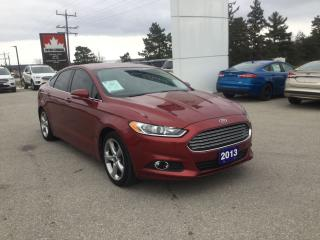 Used 2013 Ford Fusion SE   One Owner   Navigation for sale in Harriston, ON