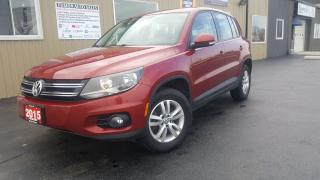 Used 2015 Volkswagen Tiguan NO TAX SALE 1 WEEK ONLY for sale in Tilbury, ON