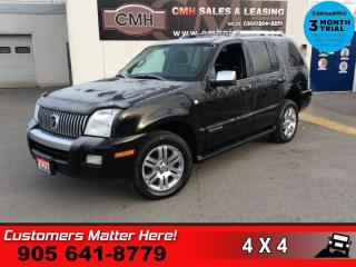 Used 2007 Mercury Mountaineer Premier  AWD 4.6L LEATHER ROOF NAVIGATION MEMORY 7 PASSENGER for sale in St. Catharines, ON