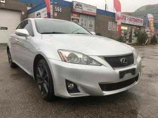 Used 2011 Lexus IS 250 Navi, Backup Camera, Leather Seats, Sunroof for sale in Oakville, ON
