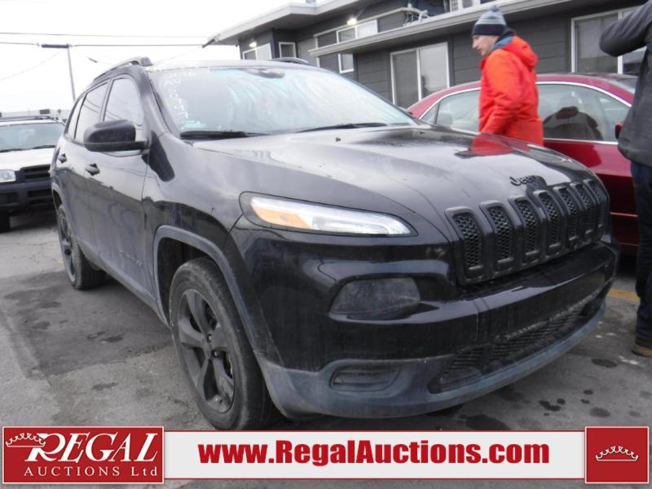 Photo of Black 2016 Jeep Cherokee