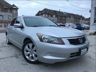 Used 2009 Honda Accord EX-L|Navi|Leather|Sunroof|Alloys Wheels|Bluetooth for sale in Burlington, ON