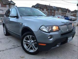 Used 2008 BMW X3 AWD|Leather|Sunroof|Accident free|Low MIleage for sale in Burlington, ON