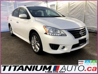 Used 2015 Nissan Sentra SR-GPS-Camera-Sunroof-Heated Seats-Push Button Sta for sale in London, ON
