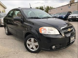 Used 2009 Chevrolet Aveo LT|Accident Free|Sunroof|Low Mileage for sale in Burlington, ON