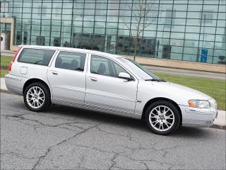 Used 2006 Volvo V70 2.5T|AWD|LEATHER|ROOF|ALLOYS|SPOILER for sale in Toronto, ON