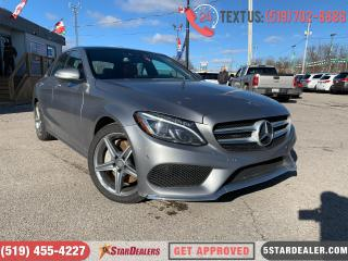 Used 2015 Mercedes-Benz C-Class C300 4MATIC | NAV | LEATHER | PANO ROOF for sale in London, ON