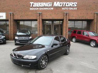 Used 2003 BMW 3 Series 330i |NO ACCIDENTS | LEATHER | SUNROOF | ALLOYS for sale in Mississauga, ON