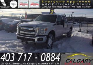 Used 2012 Ford F-250 Super Duty 4WD CREW CAB for sale in Calgary, AB