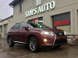 Used 2014 Lexus RX 350 Fsport AWD for sale in Hamilton, ON