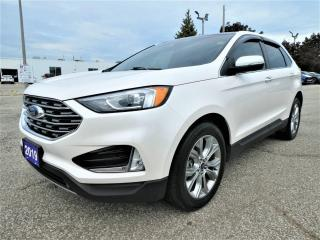 Used 2019 Ford Edge Titanium 2.0L | Navigation | Blind Spot | Panoramic Roof for sale in Essex, ON