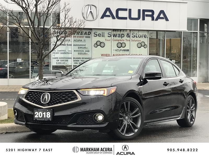 Used 2018 Acura Tlx 3 5l Sh Awd W Tech Pkg A Spec Carplay Android