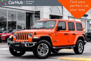 New 2019 Jeep Wrangler Unlimited New Car Sahara JL|DualTop,AdvSafety,Nav&SoundPkgs for sale in Thornhill, ON