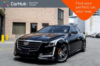 Used 2018 Cadillac CTS Sedan V-Sport Premium Luxury RWD Pano.Sunroof HUD Bluetooth GPS  for sale in Thornhill, ON