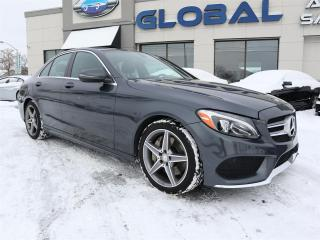 Used 2016 Mercedes-Benz C 300 4MATIC AMG SPORT PKG NAVIGATION ALL OPTIONS. for sale in Ottawa, ON