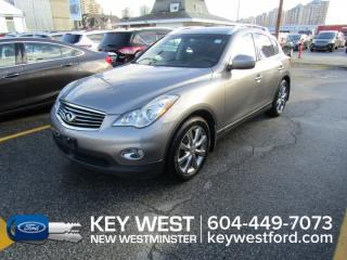 Used 2010 Infiniti EX35 AWD *No Accidents* Sunroof Leather Nav Cam Heated Seats for sale in New Westminster, BC