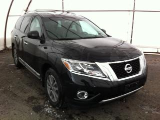 Used 2016 Nissan Pathfinder SL 7 PASSENGER LEATHER HEATED SEATING, HEATED STEERING WHEEL, POWER LIFTGATE, TRAILER TOW PACKAGE for sale in Ottawa, ON