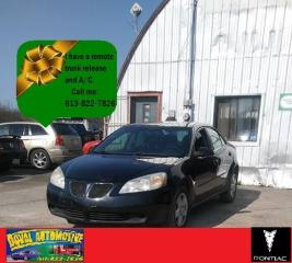 Used 2007 Pontiac G6 SE for sale in Ottawa, ON
