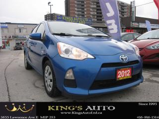 Used 2012 Toyota Prius c ONE for sale in Scarborough, ON