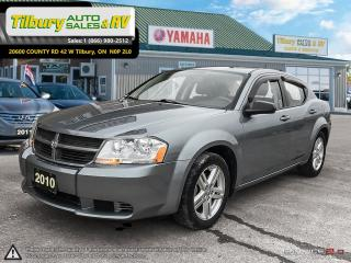 Used 2010 Dodge Avenger SE *Low KMs, SiriusXM, AUX* for sale in Tilbury, ON