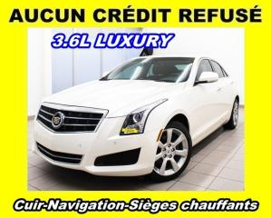 Used 2014 Cadillac ATS 3.6l Luxury Awd Nav for sale in St-Jérôme, QC