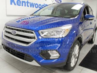 Used 2017 Ford Escape Titanium 4WD ecoboost, NAV, sunroof, heated power seats, push start/stop for sale in Edmonton, AB