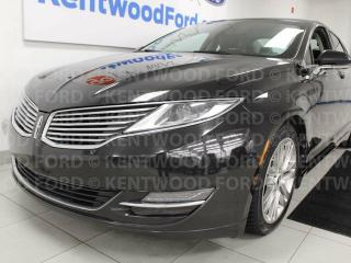 Used 2013 Lincoln MKZ 3.7L AWD, NAV, sunroof, heated/cooled power leather seats, push start/stop for sale in Edmonton, AB