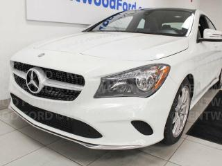 Used 2017 Mercedes-Benz CLA-Class CLA 250 AWD 4MATIC, sunroof, heated power leather seats, back up cam for sale in Edmonton, AB