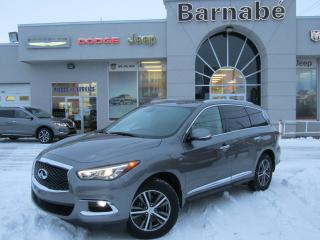 Used 2017 Infiniti QX60 PREMIUM AWD + CUIR+7 PASSAGERS+ BAS KILO for sale in Napierville, QC