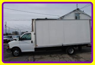 Used 2013 GMC Savana 3500 16' Cube w Ramp for sale in Woodbridge, ON