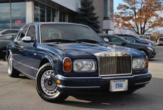 Used 1999 Rolls Royce Silver Seraph ONLY 16K MILES!1 OF 1570 WORLWIDE | CARPROOF CLEAN for sale in Oakville, ON
