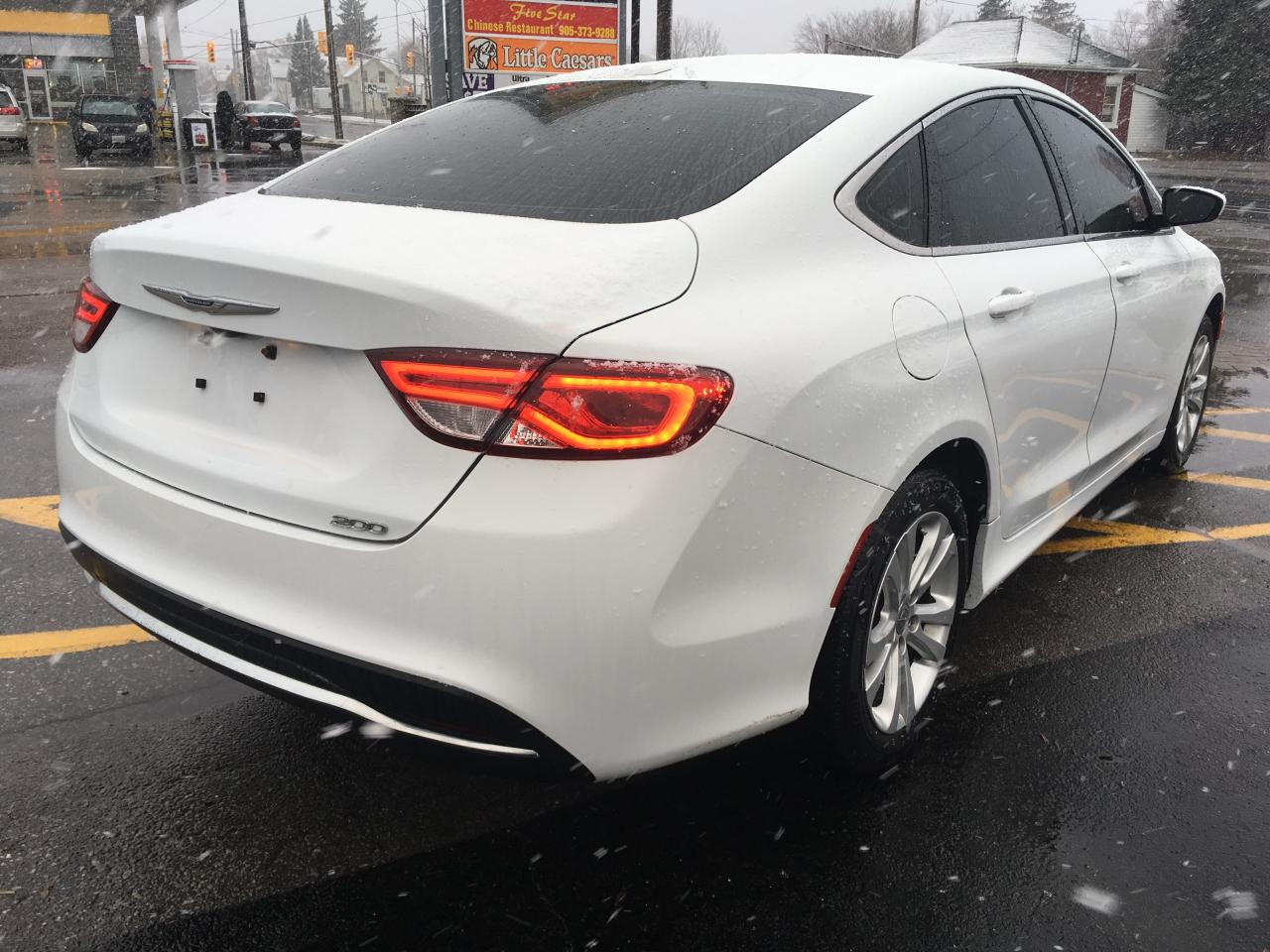 Used 2015 Chrysler 200 Limited For Sale In Cobourg Ontario Tinted Windows 905 372 5822