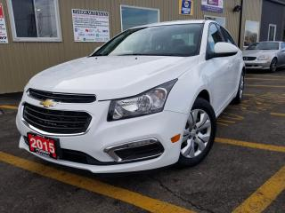 Used 2015 Chevrolet Cruze 1LT-REMOTE START-REVERSE CAMERA-BLUETOOTH for sale in Tilbury, ON