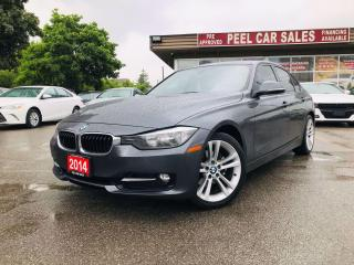 Used 2014 BMW 3 Series 320i Sedan|CERTIFIED| NAVI|SUNROOF|LEATHER| for sale in Mississauga, ON