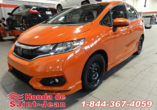 Used 2018 Honda Fit Sport CVT w/Honda Sensing for sale in St-Jean-Sur-Richelieu, QC