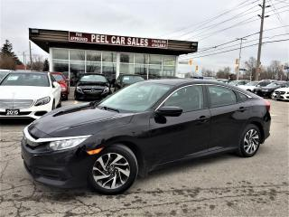 Used 2016 Honda Civic EX|SUNROOF|ALLOYS|SIDECAM| for sale in Mississauga, ON