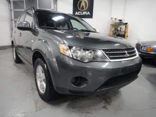 Used 2009 Mitsubishi Outlander 4X4,ALL SERVICE RECORDS,7 PASS,4X4 for sale in North York, ON